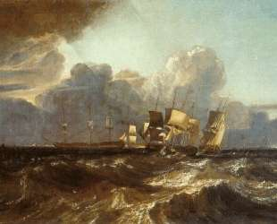 Ships Bearing up for Anchorage ('The Egremont Sea Piece') — Уильям Тёрнер