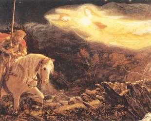 Sir Galahad — the Quest of the Holy Grail — Артур Хьюз