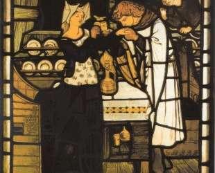 Sir Tristram and la Belle — Данте Габриэль Россетти