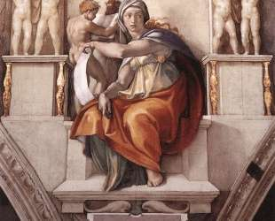 Sistine Chapel Ceiling: The Delphic Sibyl — Микеланджело