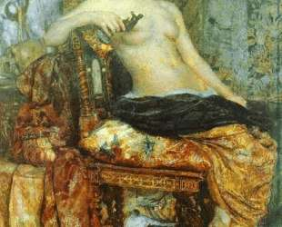Sitter in the Renaissance Setting — Михаил Врубель