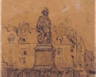 Sketch for `The Statue of Duquesne, Dieppe' — Уолтер Сикерт