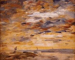 Sky at Sunset — Эжен Буден