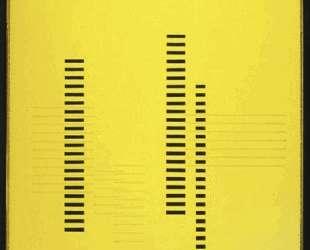 Skyscrapers on Transparent Yellow — Джозеф Альберс