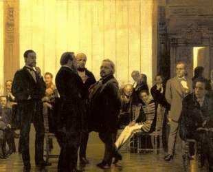 Славянские композиторы (Собрание русских, польских и чешских музыкантов) — Илья Репин