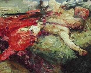 Спящий казак — Илья Репин