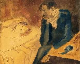 Sleeping woman (Meditation) — Пабло Пикассо