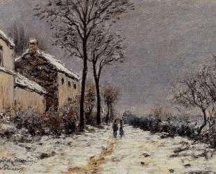 Snow Effect at Veneux — Альфред Сислей