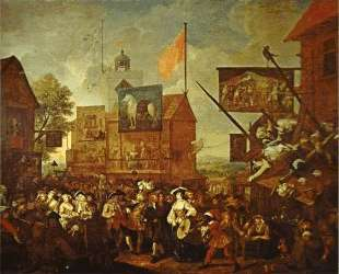 Southwark Fair — Уильям Хогарт