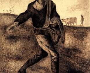 Sower (after Millet) — Винсент Ван Гог