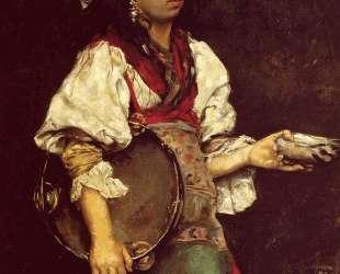 Spanish Girl — Юлиус Леблан Стюарт