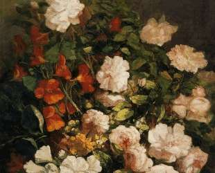 Spray of Flowers — Эжен Буден