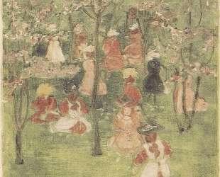 Spring in Franklin Park — Морис Прендергаст