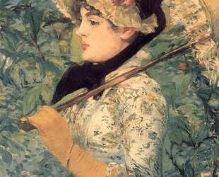 Spring (Study of Jeanne Demarsy) — Эдуард Мане