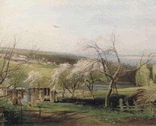 Spring, Village View — Алексей Саврасов