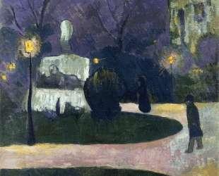 Square with Street Lamp — Поль Серюзье