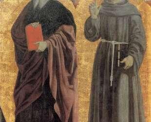 Св. Андрей и Св. Бернардин — Пьеро делла Франческа