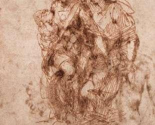 St. Anne with Virgin and Child Christ — Микеланджело
