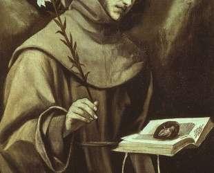 Св. Антоний падуанский — Эль Греко