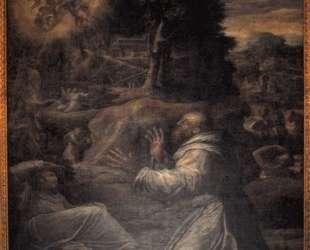 St. Francis receiving the Stigmata — Джорджо Вазари