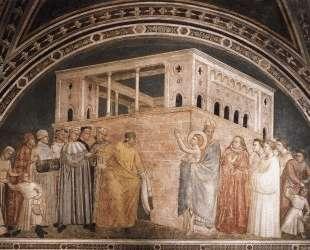 St. Francis Renouncing his Worldly Goods — Джотто