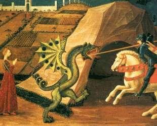 Св. Георгий и змей — Паоло Уччелло