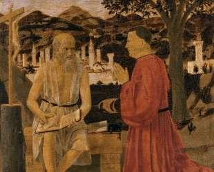 Св. Иероним и донатор — Пьеро делла Франческа