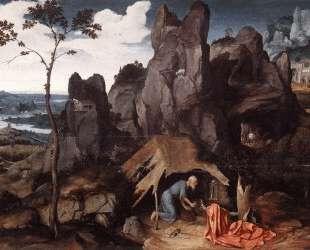 St. Jerome in the Desert — Иоахим Патинир