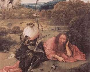 Св. Иоанн Креститель в раздумьях — Иероним Босх