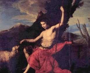 St. John the Baptist in the Wilderness — Хосе де Рибера