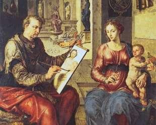 St. Luke Painting the Virgin — Мартен ван Хемскерк