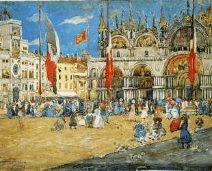 St. Mark's, Venice — Морис Прендергаст