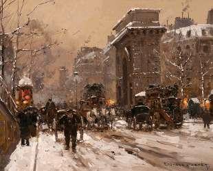 St. Martin, Winter — Эдуард Кортес