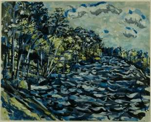 St. Mary's Black River is Blue, Georgia — Айвен Олбрайт