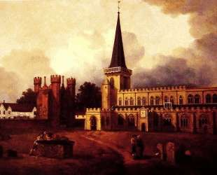 St. Mary's Church Hadleigh — Томас Гейнсборо