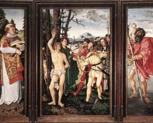 Алтарная картина Святой Себастьян — Ханс Бальдунг