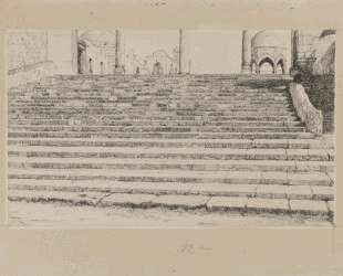 Staircase of the Court, Haram — Джеймс Тиссо