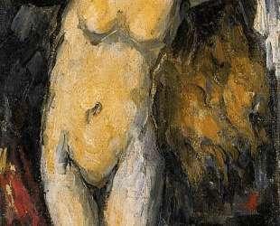 Standing Bather, Drying Her Hair — Поль Сезанн