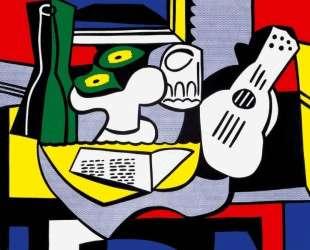 Still life after Picasso — Рой Лихтенштейн