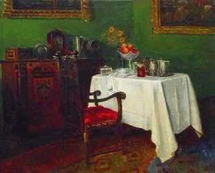 Натюрморт в интерьере — Константин Маковский
