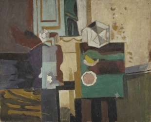 Still life on yellowish background — Янис Царухис