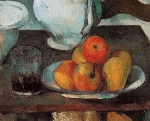 Still Life with Apples — Поль Сезанн
