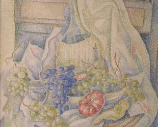 Still Life with Bottle and Fruit — Маревна