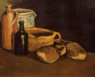 Still Life with Clogs and Pots — Винсент Ван Гог