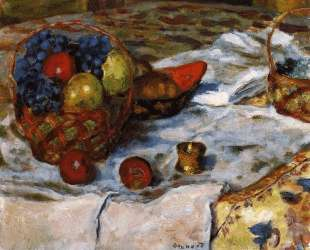 Still LIfe with Earthenware Dish — Пьер Боннар