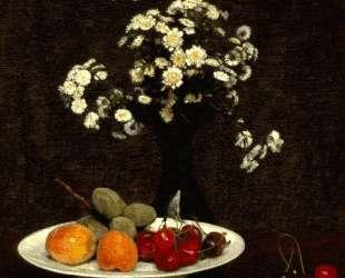 Still Life With Flowers — Анри Фантен-Латур