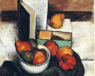 Still Life with Fruit and Vegetables — Томас Гарт Бентон