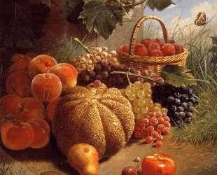 Still life with fruit — Ян Слёйтерс