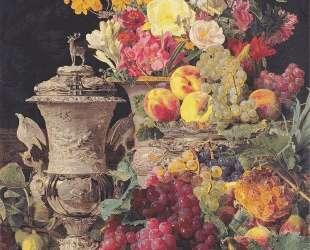 Still Life with Morning Cup — Фердинанд Георг Вальдмюллер