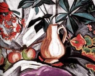 Натюрморт с кувшином и яблоками — Ольга Розанова